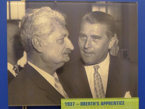 Hermann Oberth und Wernher von Braun