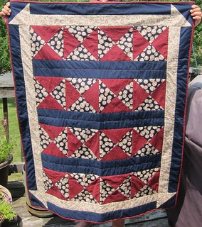Margaret's Hope Chest, quilt for Sonny