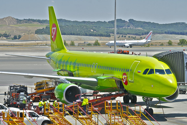 S7 Airlines Airbus A320-214; VQ-BDF@MAD;30.06.2012/658ct