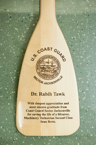 Gift to Dr. Rabih Tawk