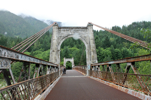 Canada Day excursion to Alexander Bridge, BC