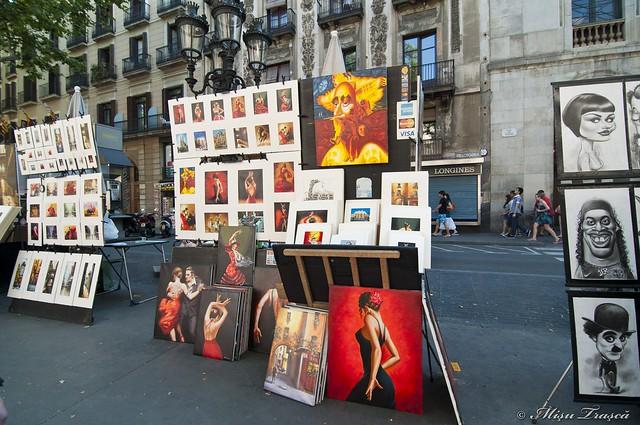 La Rambla - street art