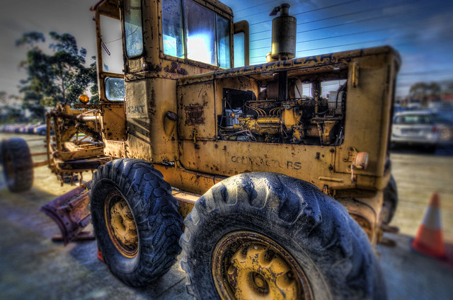 1960 Caterpillar 12E Grader 2012-07-05 (_MG_0635_6_7)