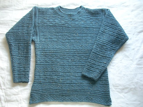 """Knit & purl"" sweater by Asplund"