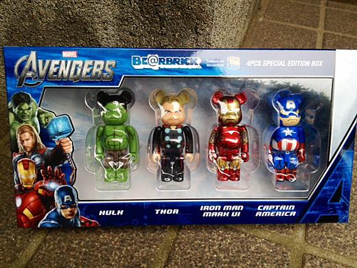 avengers bearbrick1
