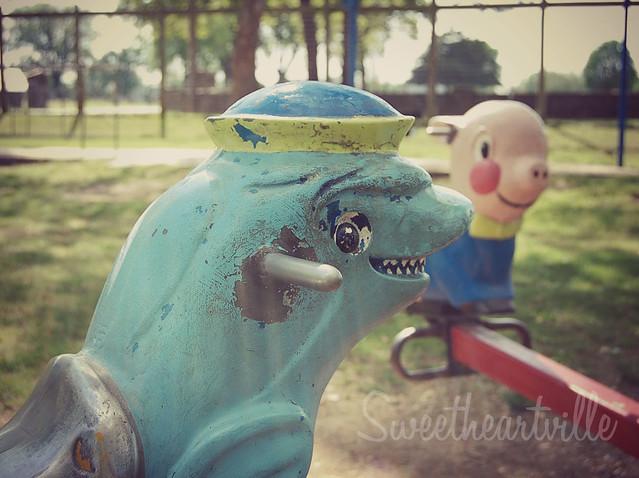 scary dolphin