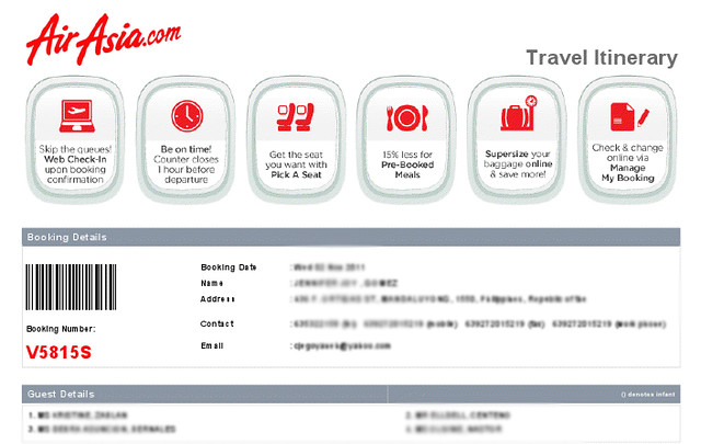 air asia flight ak1480 travel itinerary