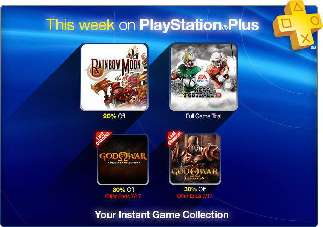 PlayStation Store Update 7-10-12