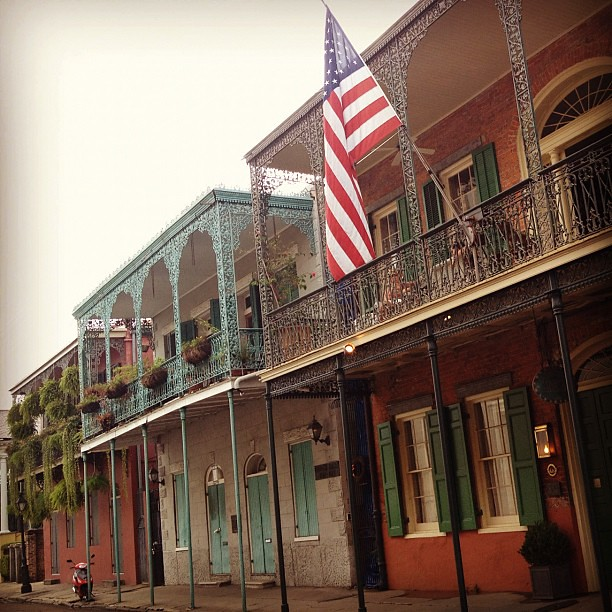 Sweet, sultry, steamy, sexy, sweaty, sticky New Orleans.
