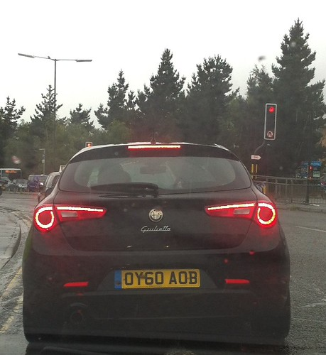 Does anyone else think the brake lights on this car look like a villian's twirly moustache? by benparkuk