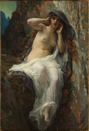 Alexandre Cabanel - Echo [1874] by Gandalf's Gallery