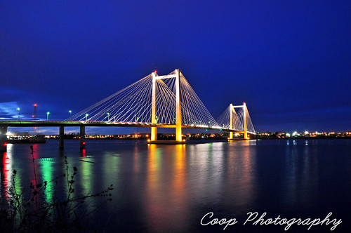 bridge night river ed photography march washington twilight nikon memorial cities cable columbia wa coop tri 2012 kennewick pasco d90 hendler