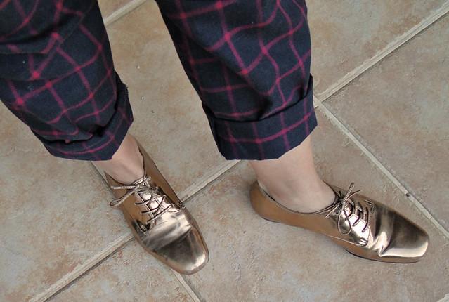 Bronze nos pés