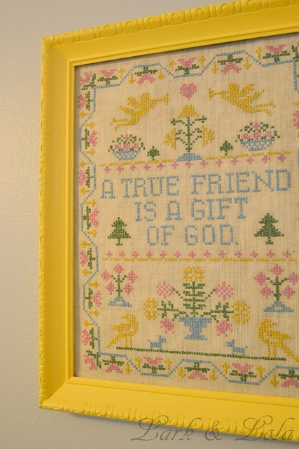 Thrifted Cross-Stitch
