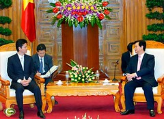 NguyenTanDung Photos posted a photo:	Prime Minister Nguyen Tan Dung on Saturday received Japanese Foreign Minister Gemba Koichiro who is on an official visit to Vietnam to attend the 4th meeting of the Vietnam-Japan Cooperation Committee.nguyentandung.info/prime-minister-nguyen-tan-dung-receive...