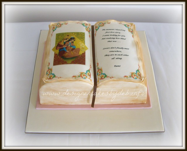 Open Book Cake Images : Open Book Wedding Cake Flickr - Photo Sharing!