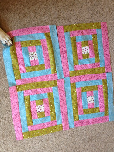 James Baby Quilt Blocks Trial 1