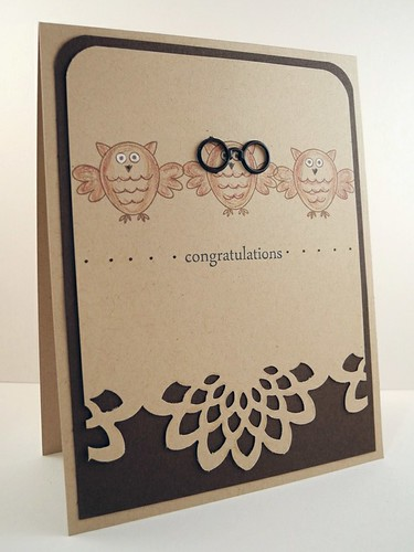 Owl Congratulations Card