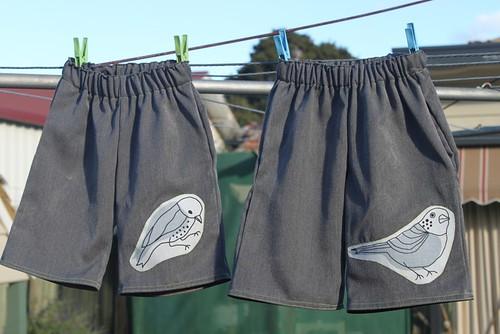 Bird Shorts
