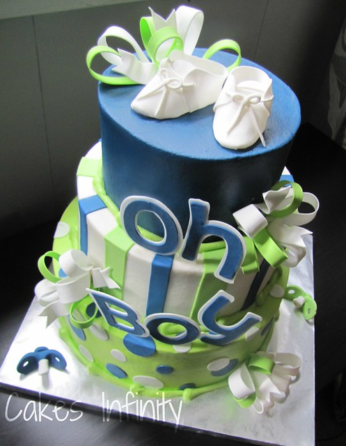 Oh Boy Baby shower cake!