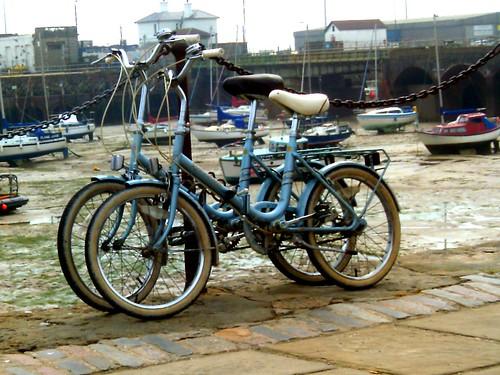 Lovely vintage bikes.