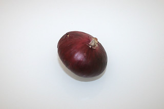 04 - Zutat rote Zwiebel / Ingredient red onion