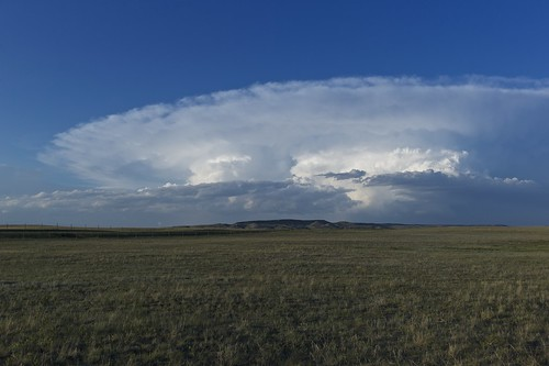 [フリー画像素材] 自然風景, 草原・草, 雲, 風景 - アメリカ合衆国 ID:201208041200