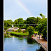 Rainbow over The Lido Cafe and The Serpentine in Hyde Park21