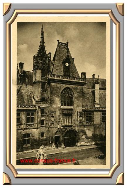BOURGES (Cher) _ L'Hôtel de Jacques Coeur _15_Yvon -70-150