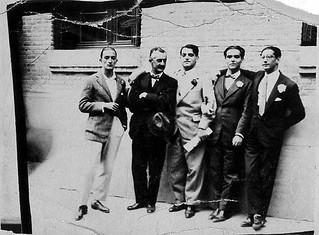 Salvador_Dali_Jose_Moreno_Villa_Luis_Bunuel_Federico_Garcia_Lorca_Jose_Antonio rubio madrid 1926