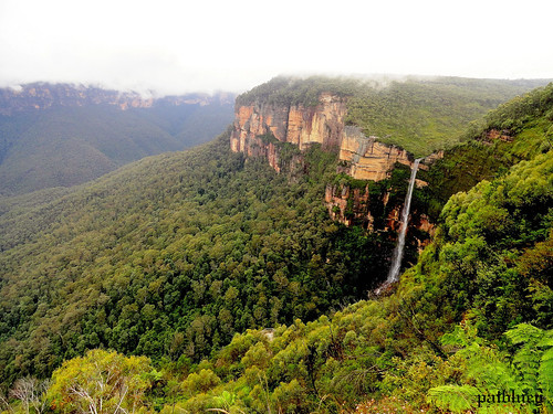 Govetts Leap and Bridal Veil Falls