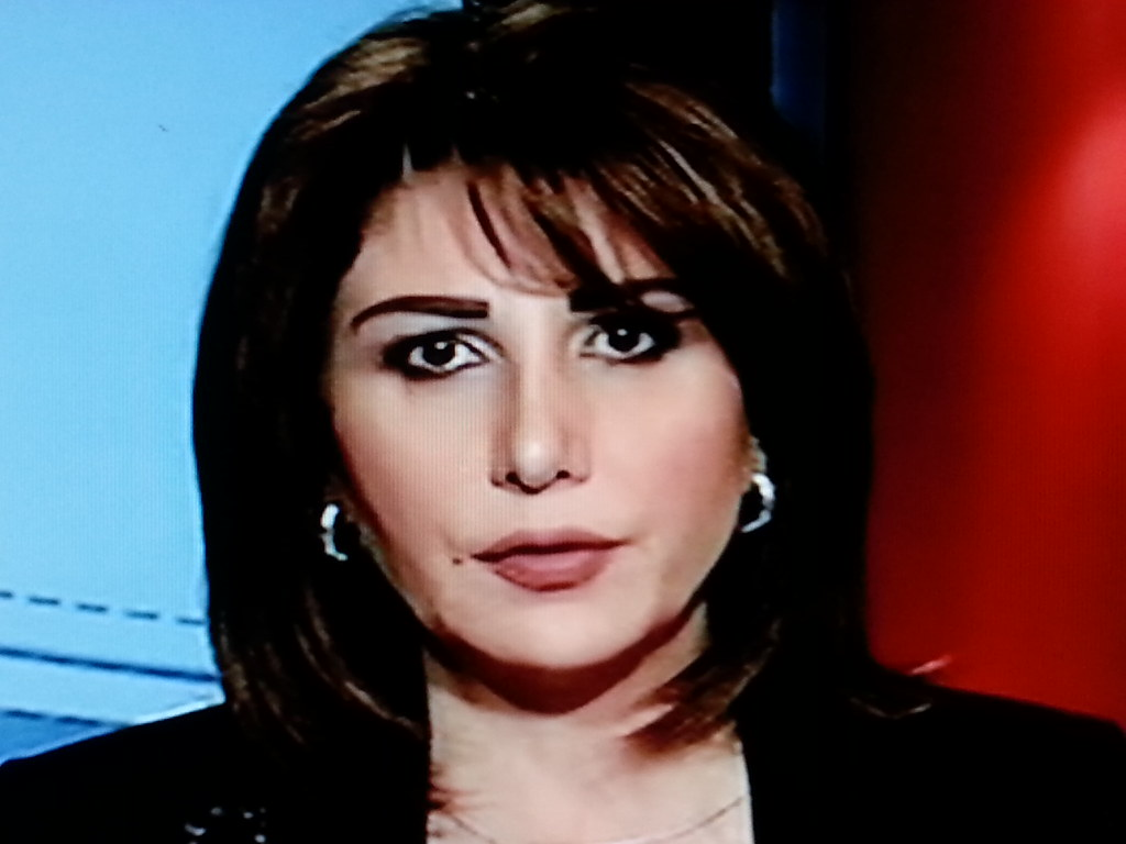 The first presenter in the Arab news channel - Ms  M Ramah