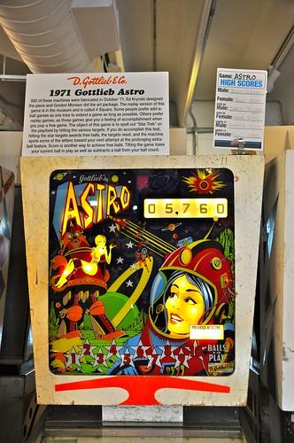 Astro Pinball Machine