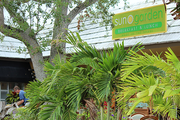 sun garden cafe siesta key sarasota fl restaurant review the watering mouth