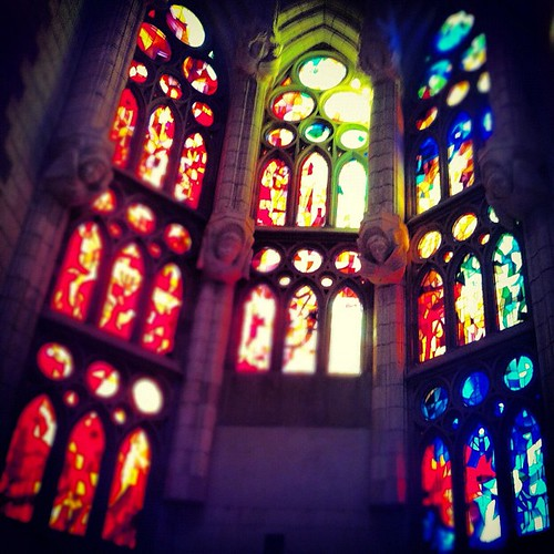 Gorgeous stained glass.