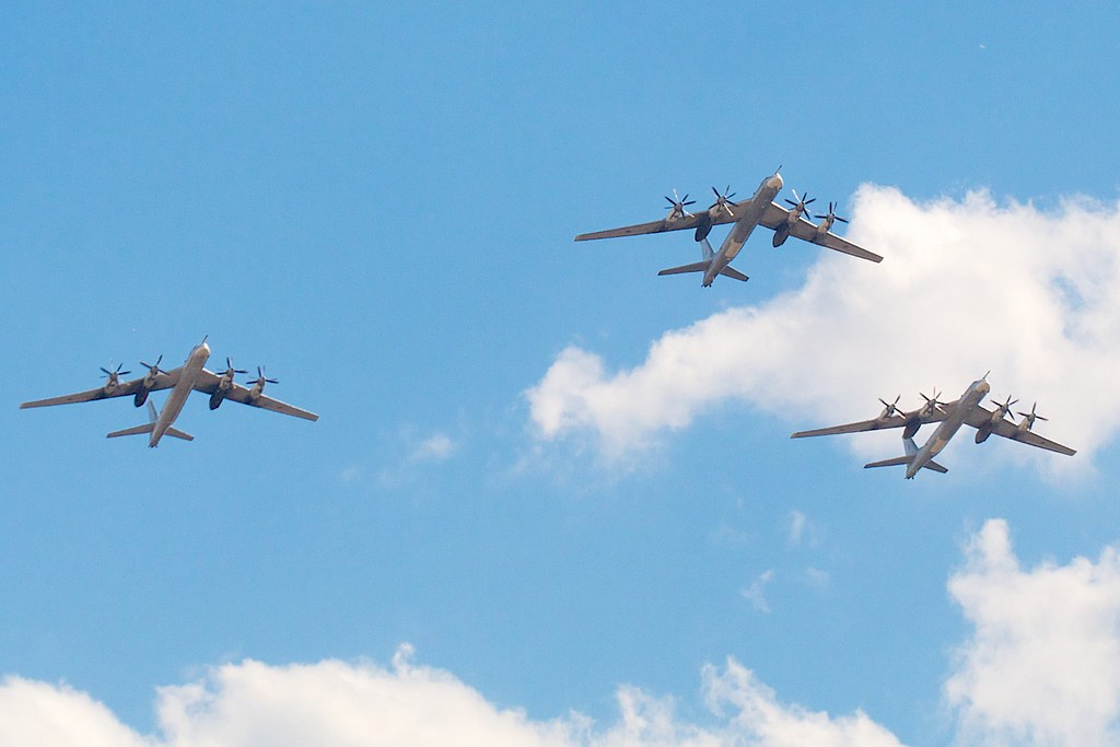3x Tupolev Tu-95 by Andrey Belenko, on Flickr