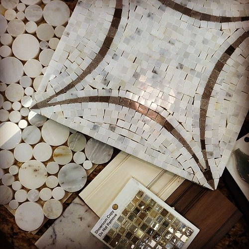 Tile shopping! One of my favorite things