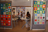 Four modern crosses quilts by hollybroadland