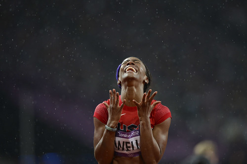 Olympics: Track and Field-Women's 100m Hurdles-Semifinalslympics: Track and Field-Women's 100m Hurdles-Final