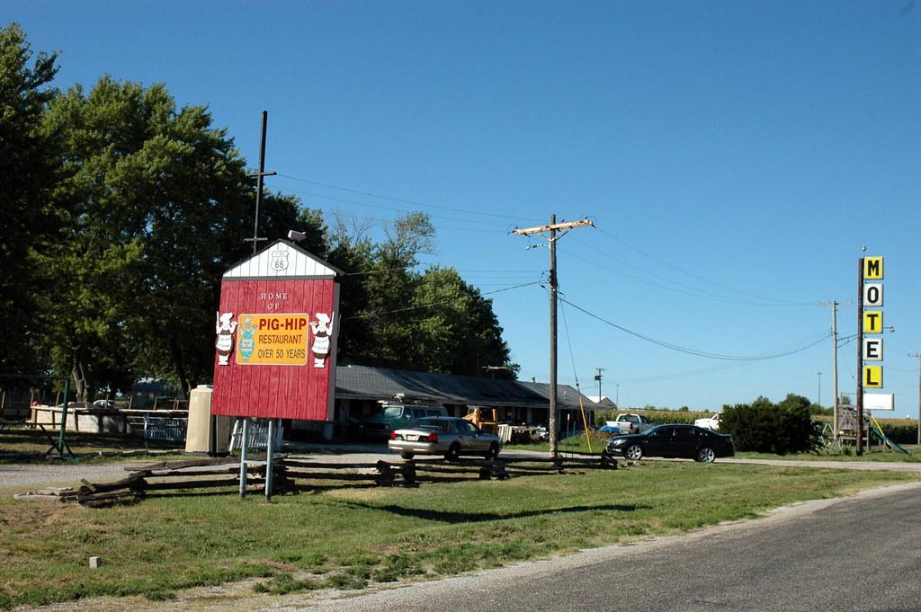 Pig-Hip Restaurant Site, Broadwell, IL