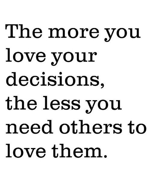 love decisions