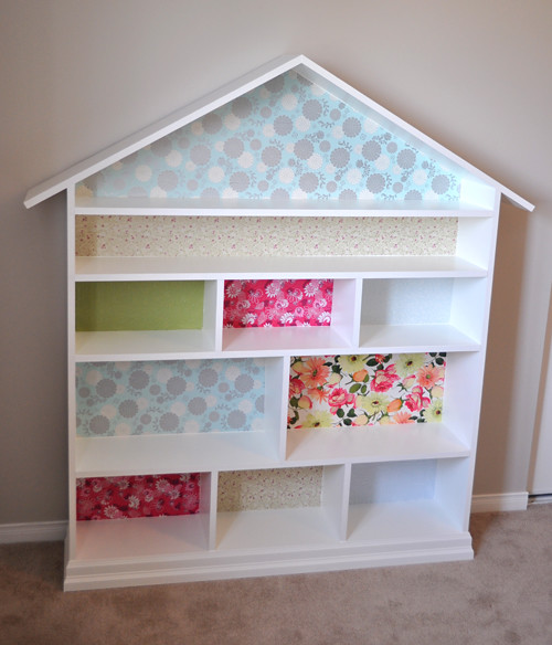 Mash.up.designs: Look! It's A Bookcase! It's A Dollhouse