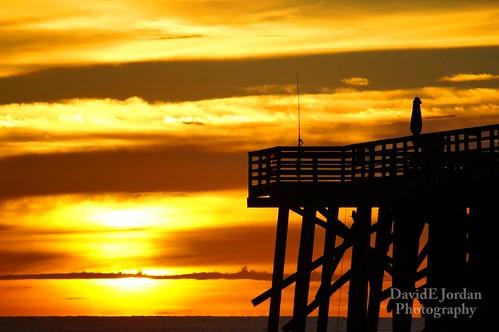 ocean morning sun beach water sunrise pier florida unique places flickraward