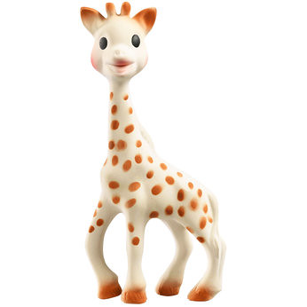 ", Isabelle's ""Must Have Toy""…her Sophie the Giraffe"