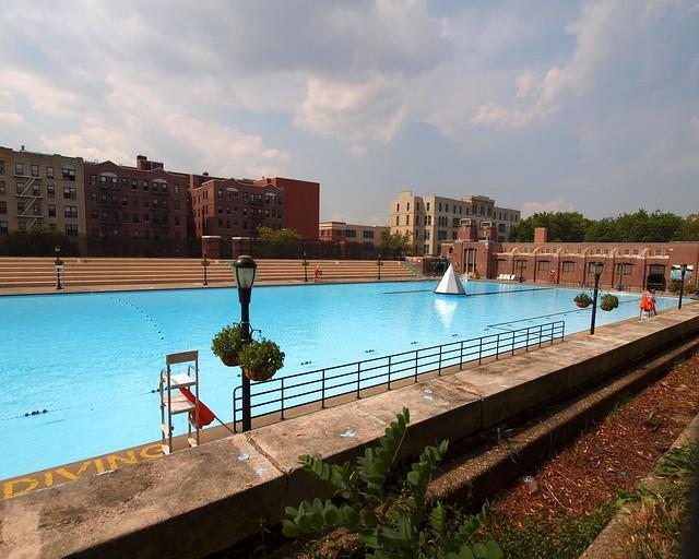 Crotona pool bronx new york city flickr photo sharing for Garden city pool ny