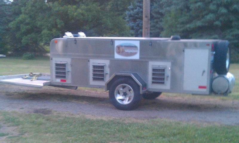 2004 Stainless Steel 6 Hole Crow River Trailer For Sale