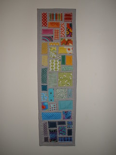 Ticker tape rainbow wall hanging
