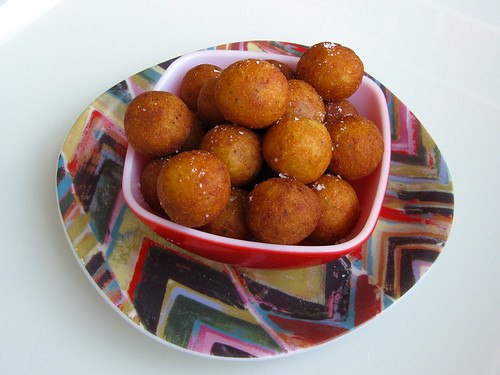 fried chilean potato puffs (papas duquesas)