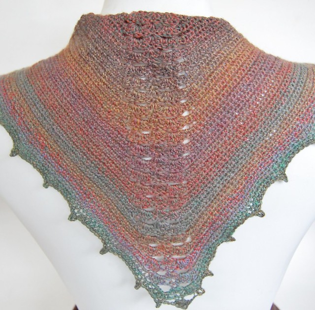 manta ray scarflette by knot by gran'ma