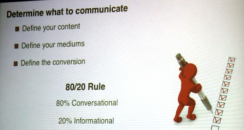 Determine what to Communicate